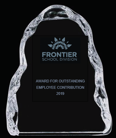 2019 Outstanding Employee Contribution Award Recipient