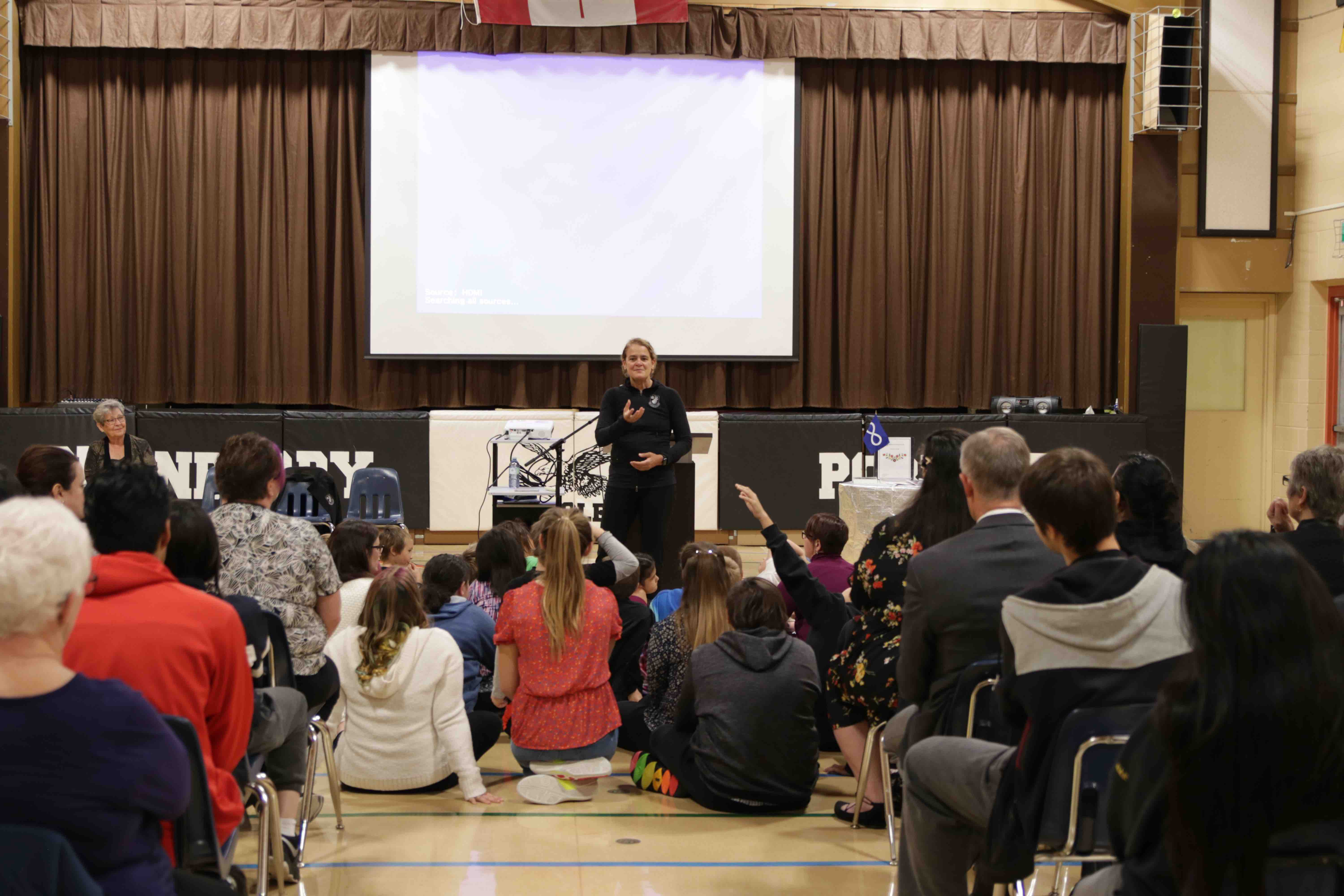 Cranberry Portage Elementary Hosts Governor General of Canada and Lieutenant Governor of Manitoba